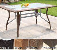 Outdoor Wicker Furniture - Dining Tables