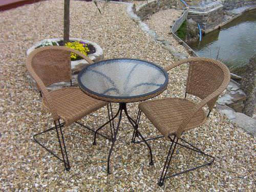 Bistro/Cafe Chairs - Outdoor Wicker Furniture