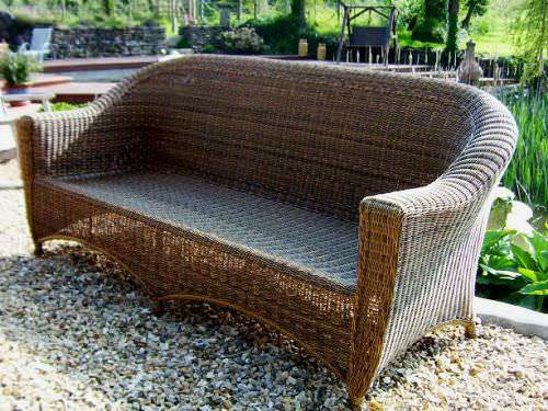 Outdoor Wicker Furniture - Sofas