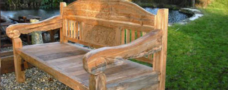 Reclaimed and Decorative Benches