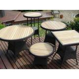 Commercial Wicker - Tables