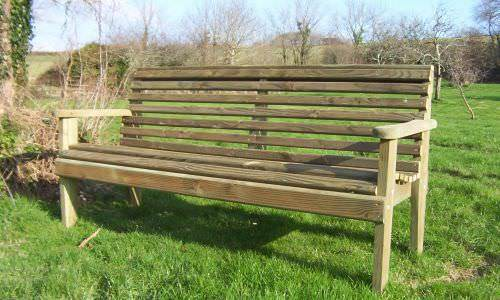 Woodland Style Forest Garden Benches and Seats Sustainable Furniture
