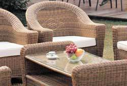 Conservatory furniture sets from sustainable materials