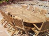 12 Seater Garden Furniture Sets - Grade A
