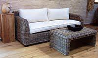 Wicker Living Room Sofa's at Sustainable Furniture
