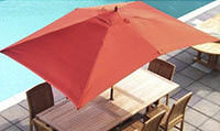 Parasols for Garden and patio usage