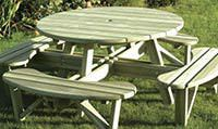 sustainably sourced and manufactured picnic benches and tables