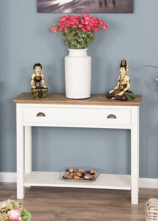 Brocante Hall Console Table