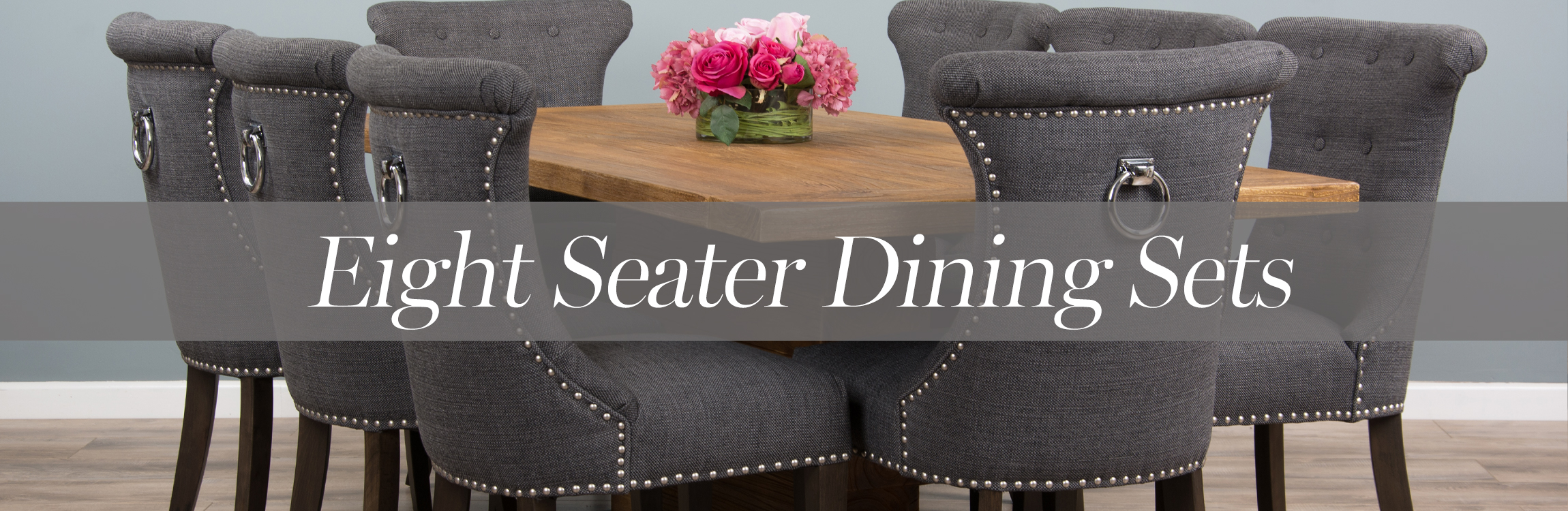Eight Seat Dining Table and Chairs   Sustainable Furniture