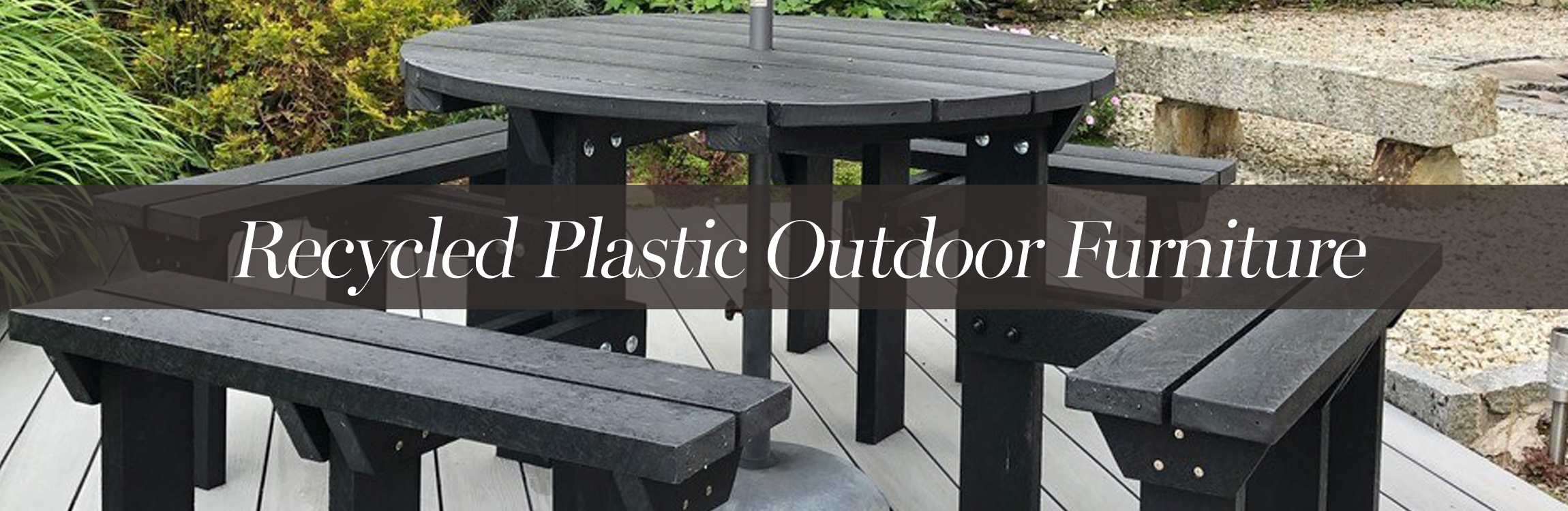 Recycled Plastic Picnic Benches, Recycled Plastic Garden Bench ...