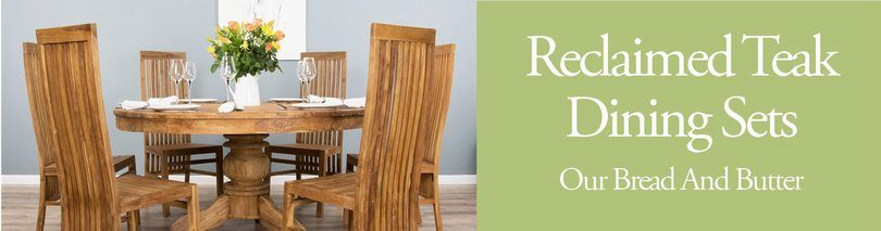 Reclaimed Teak Dining Sets