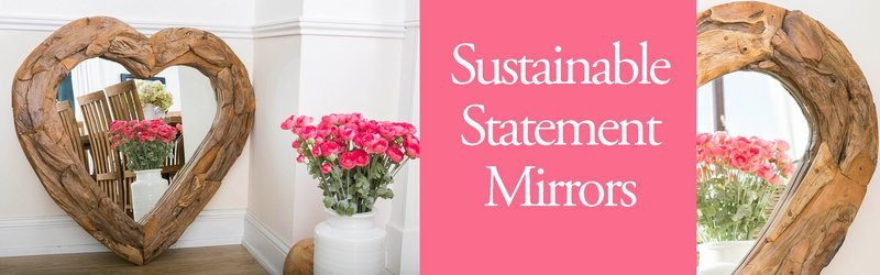Sustainable Mirrors - Living Room Furniture - Sustainable Furniture