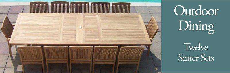 Twelve Seater Garden Furniture Sets