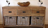 Reclaimed Sustainable Living Room Cabinets at Sustainable Furniture