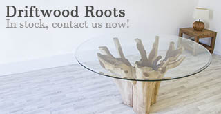 Teak Root Dining Tables at Sustainable Furniture