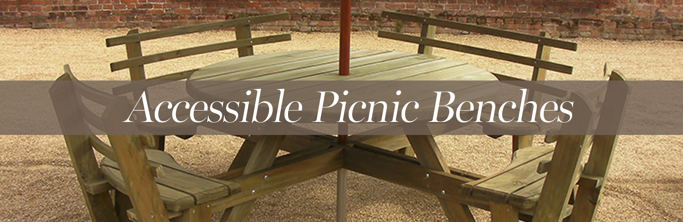 Accessible Picnic Benches