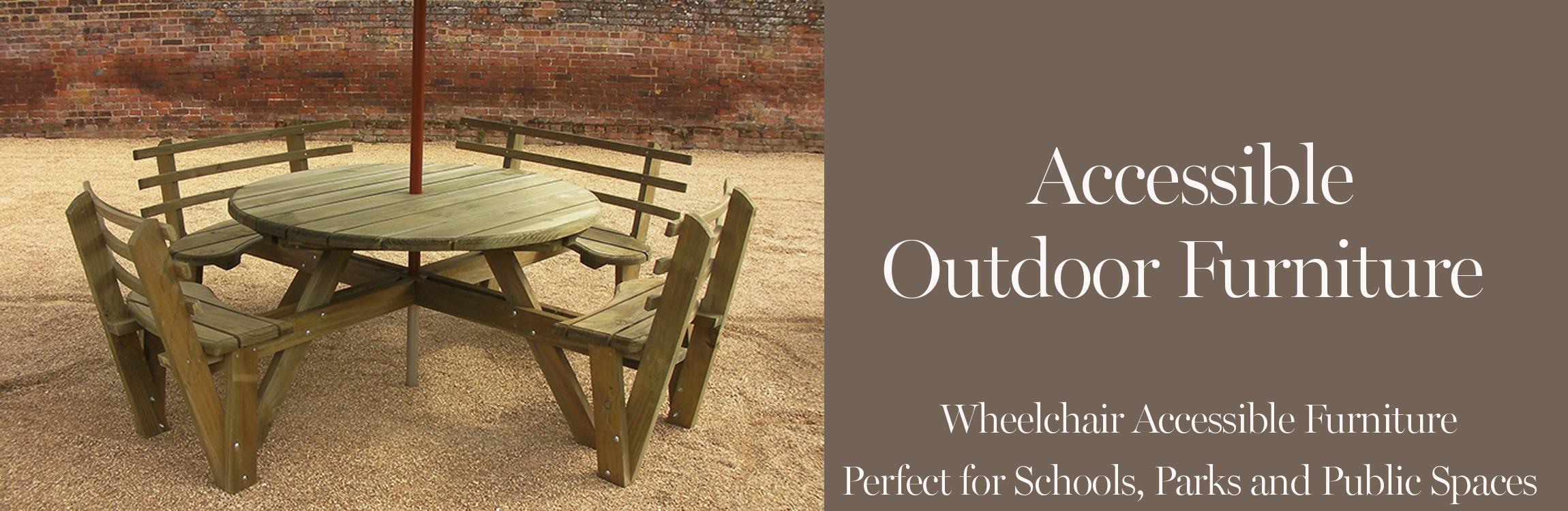 Accessible Outdoor Furniture