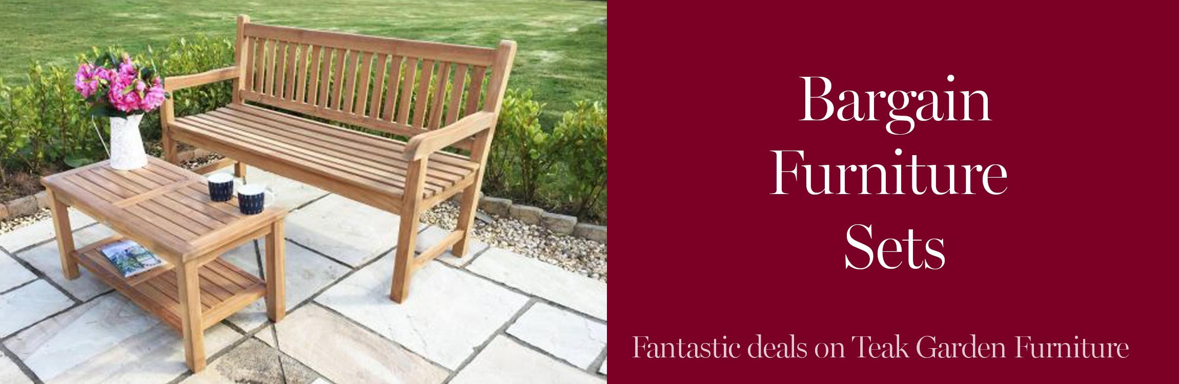 Bargain Garden Furniture Sets