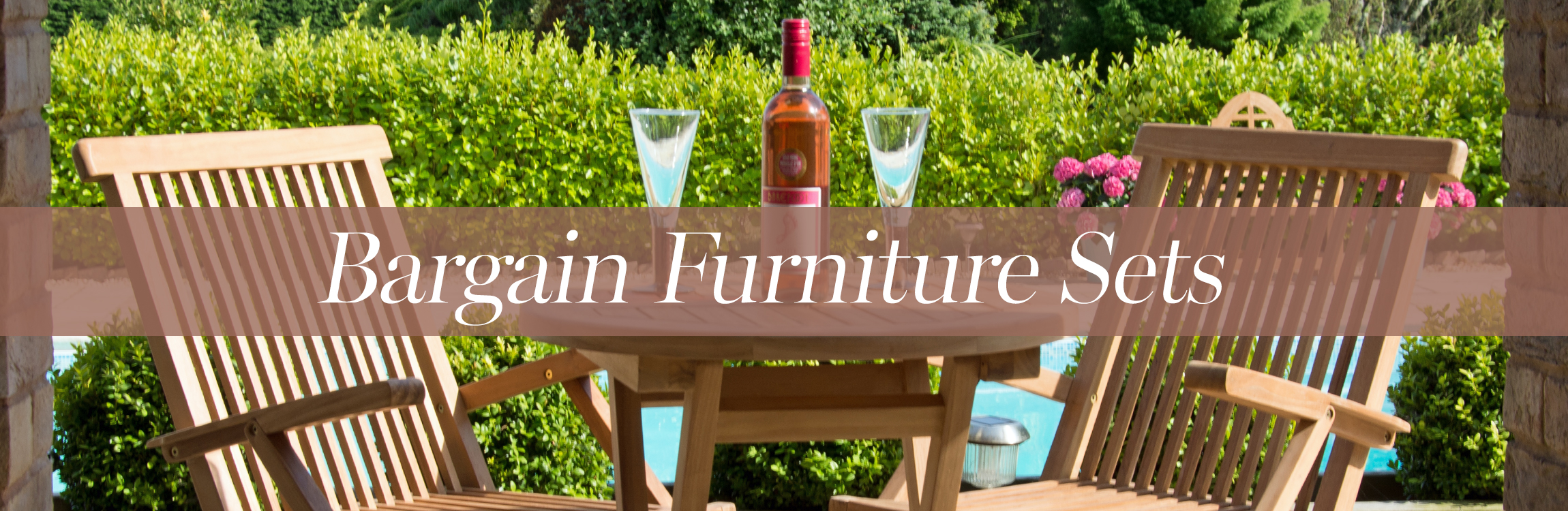 Bargain Garden Furniture Sets