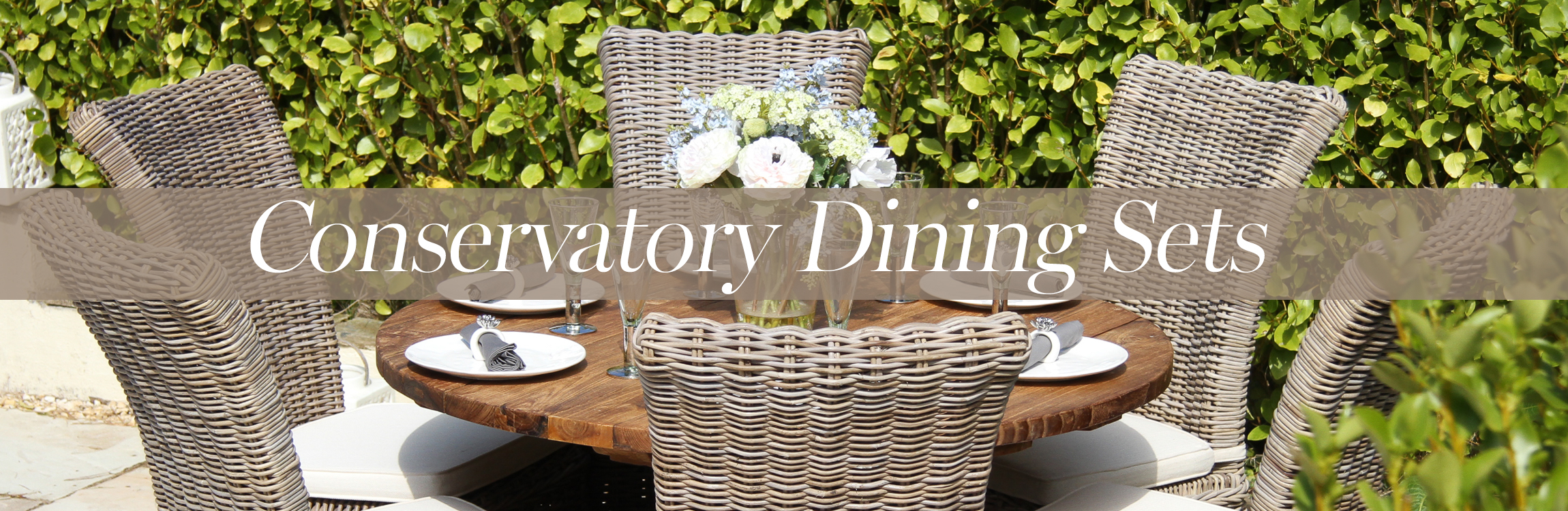Conservatory Dining Sets