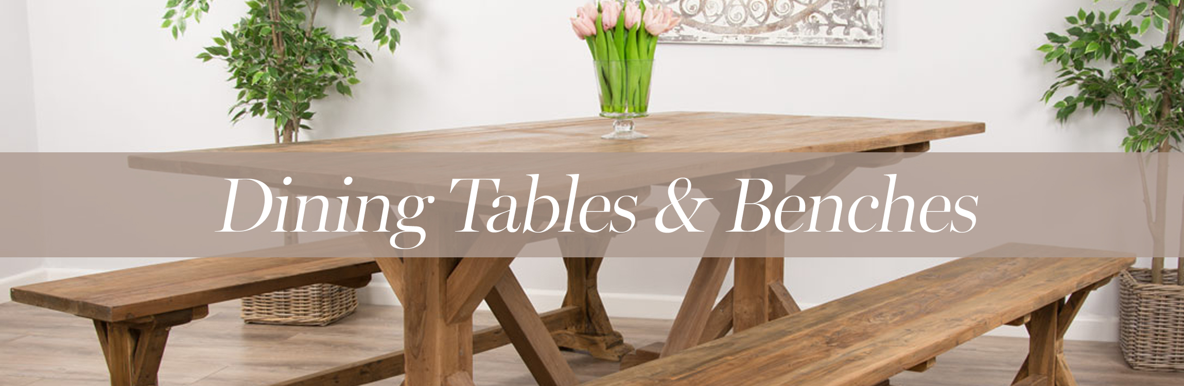 Dining Table and Bench Sets