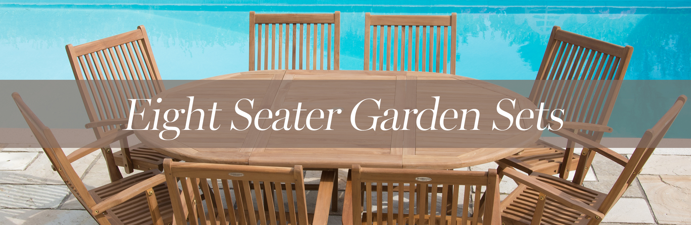 Eight Seater Garden Furniture Sets