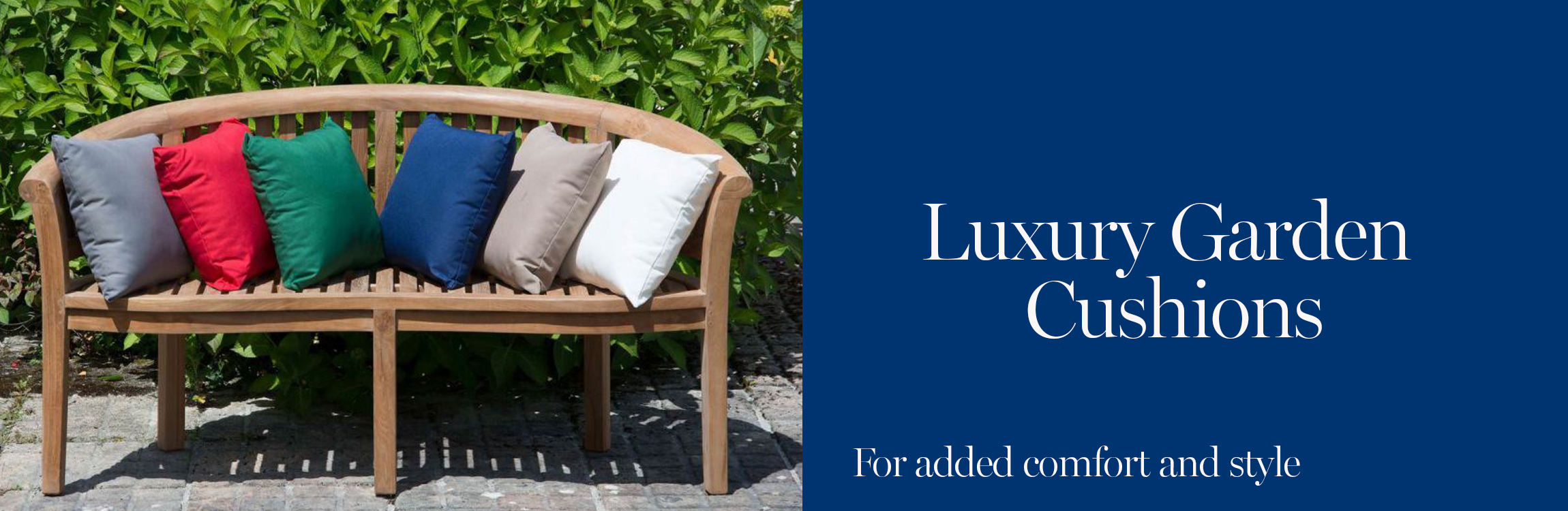 Luxury Garden Cushions