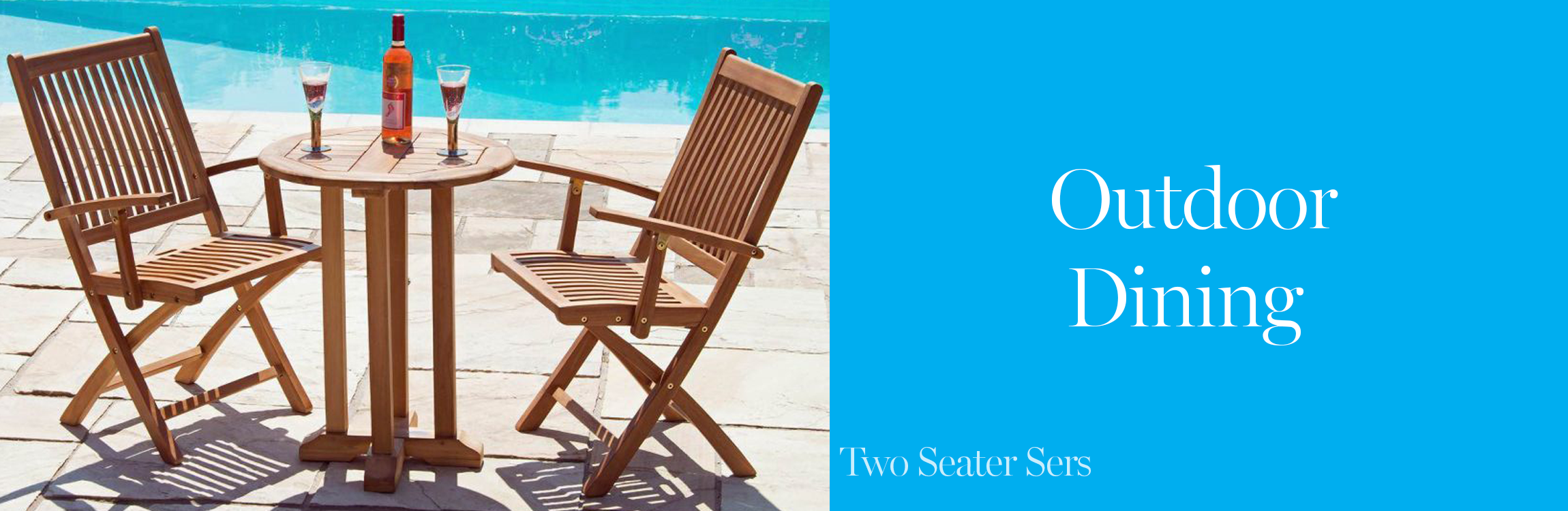 Two Seater Garden Furniture Sets
