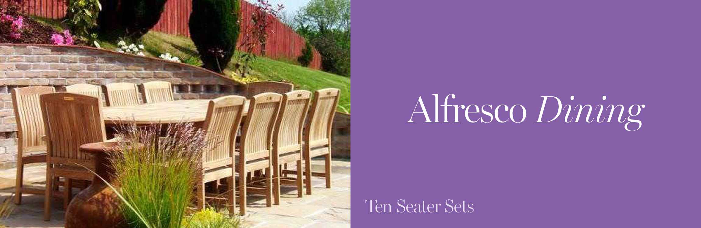 Ten Seater Garden Furniture Sets