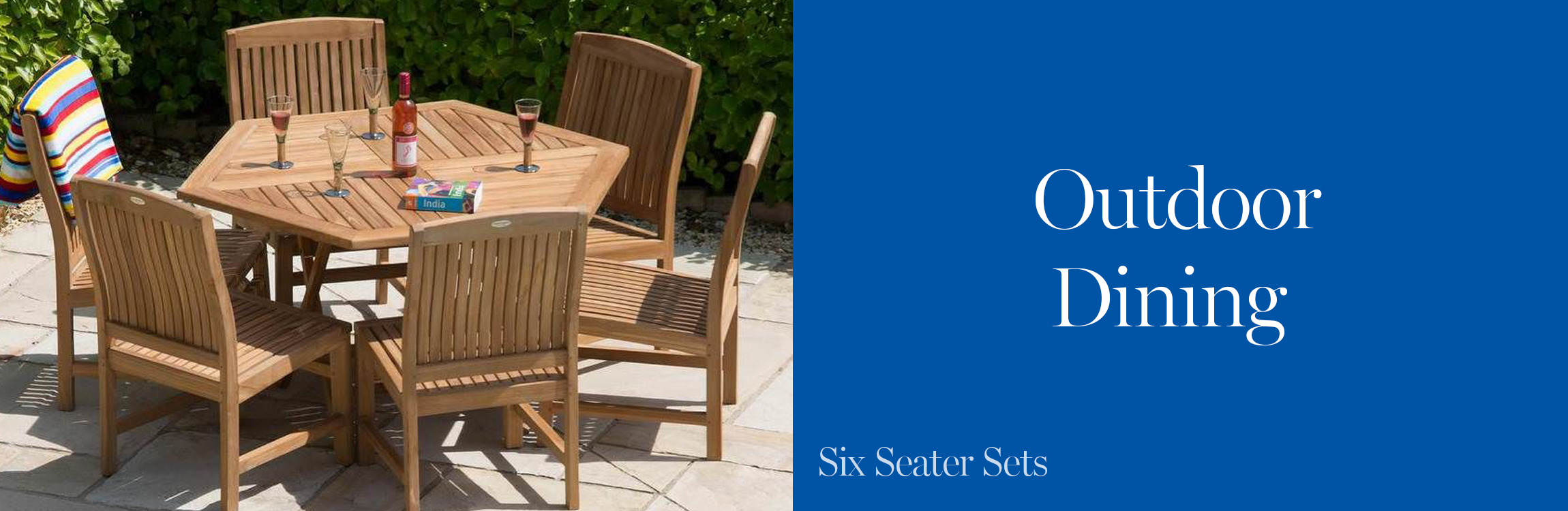 Six Seater Garden Furniture Sets