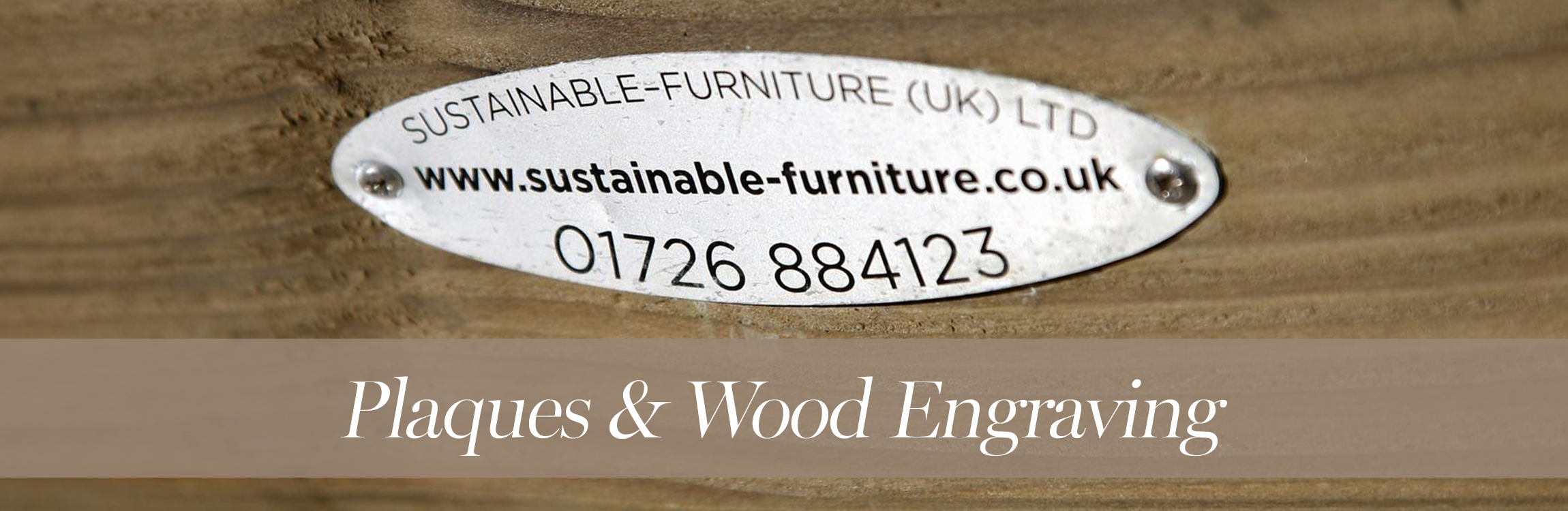 Plaques & Wood Engraving