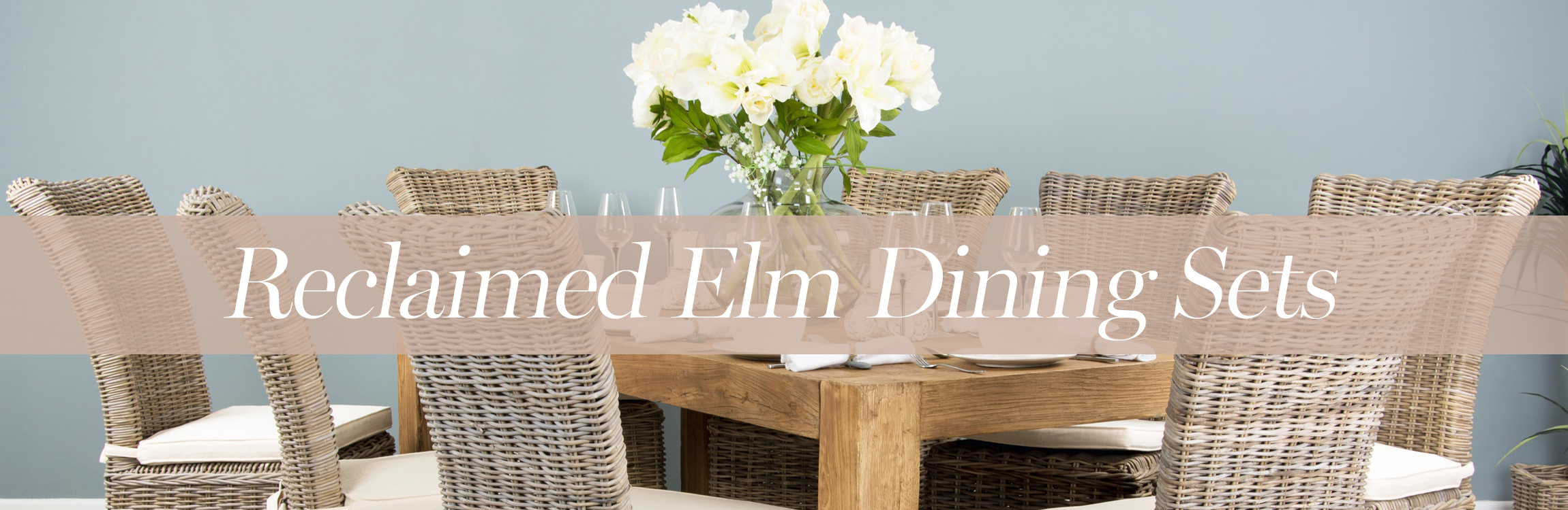 Reclaimed Elm Dining Sets