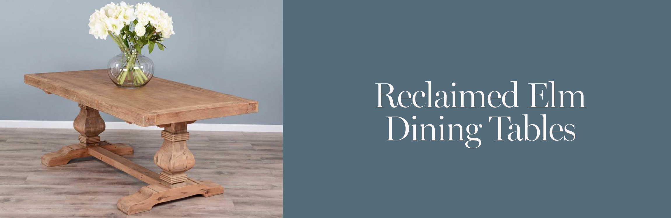 Reclaimed Elm Dining Tables