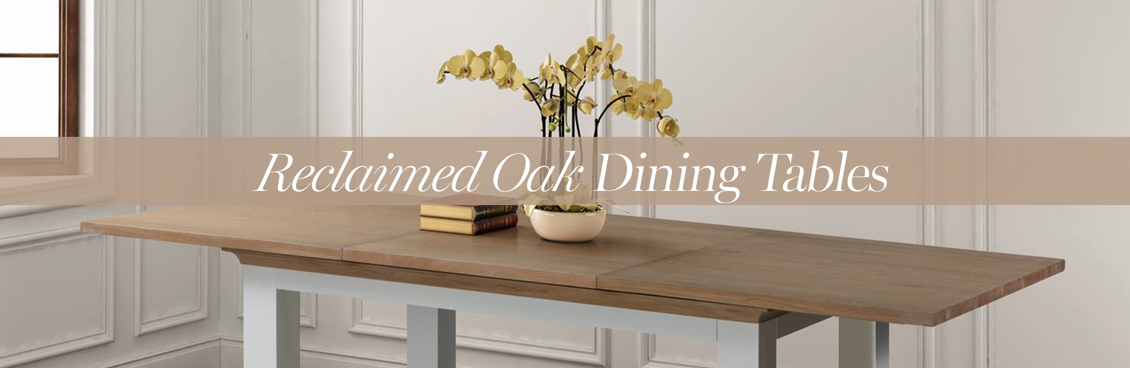 Reclaimed Oak Dining tables
