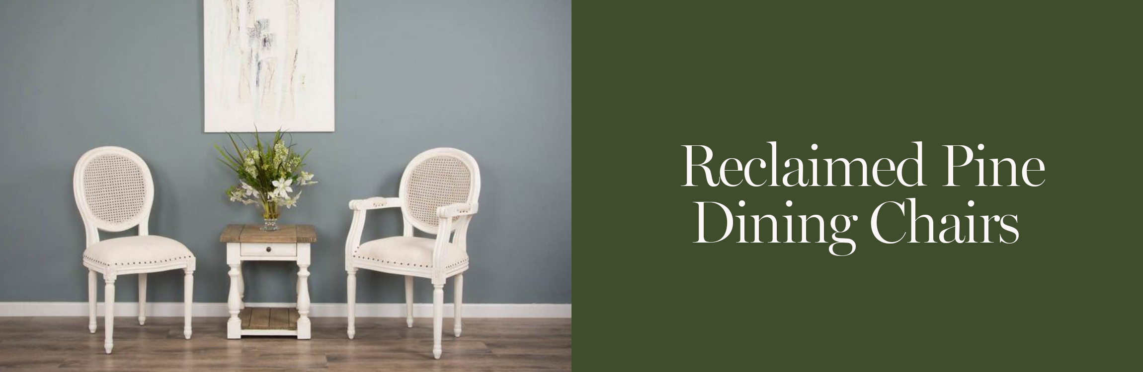 Reclaimed Pine Dining Chairs