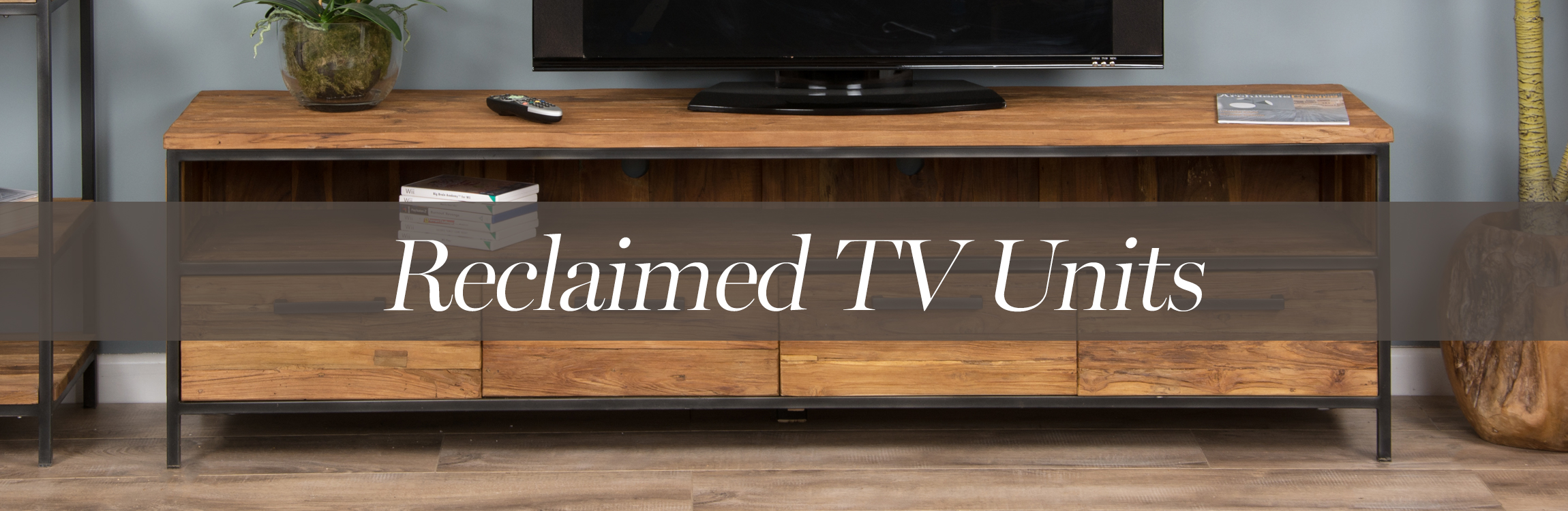 Reclaimed TV units