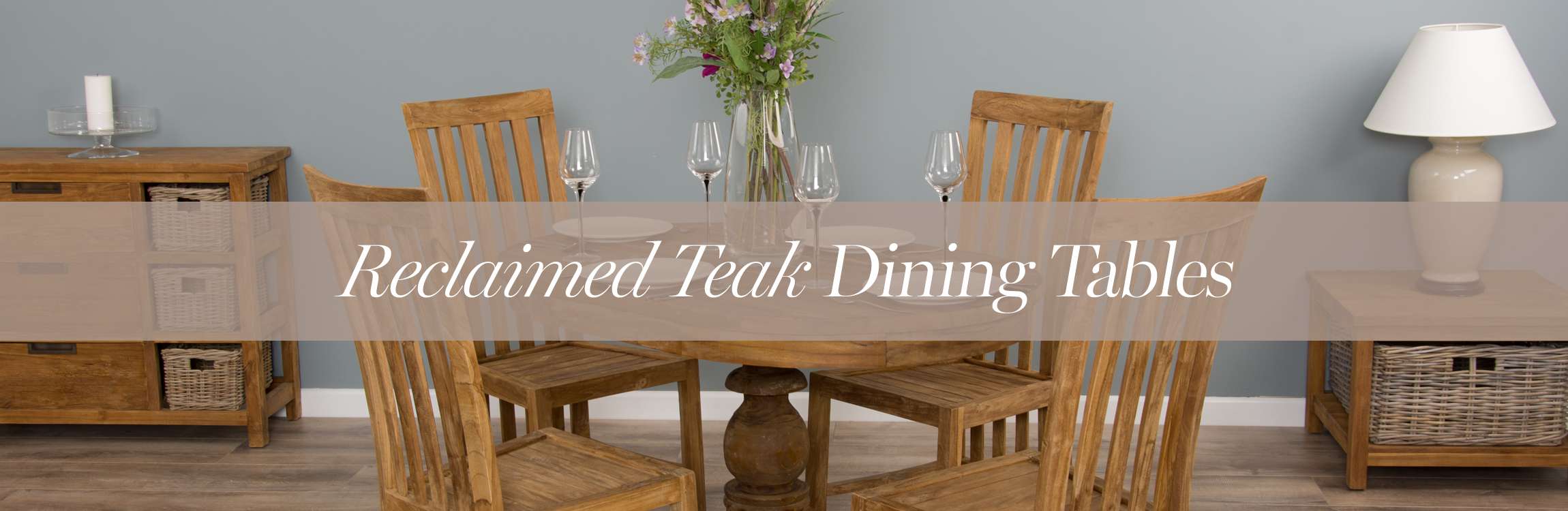 Reclaimed Teak Dining Tables