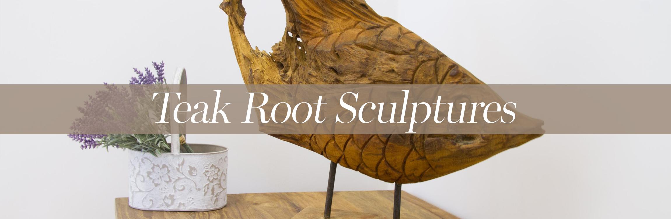 Teak Root Sculptures