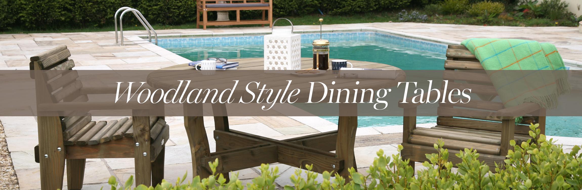 Woodland Garden Tables