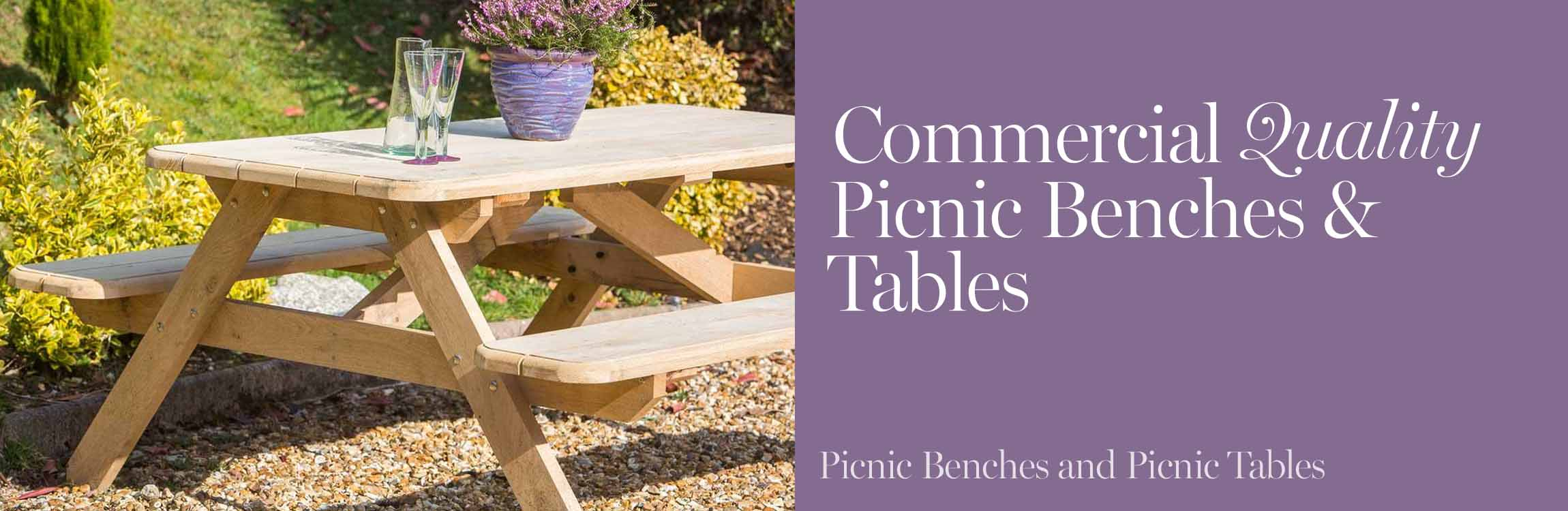 Picnic Benches and Picnic Tables