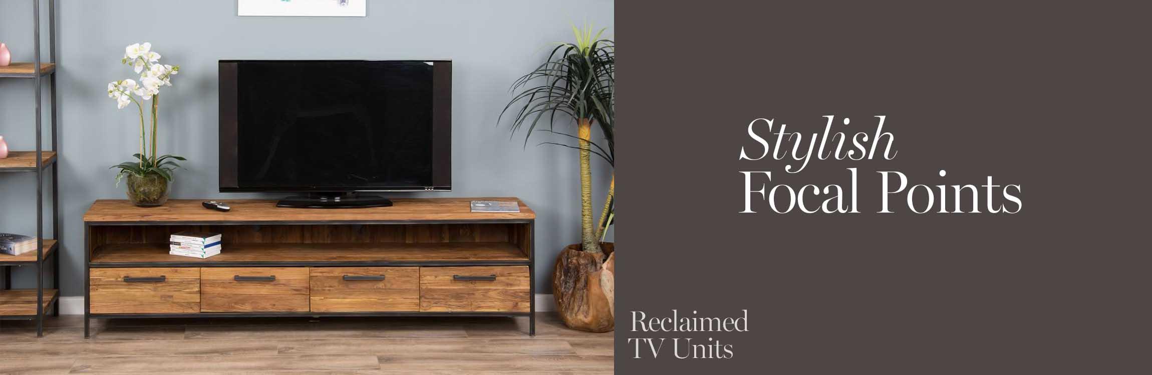 Reclaimed TV units