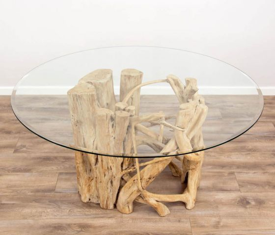1.5m Java Root Circular Dining Table