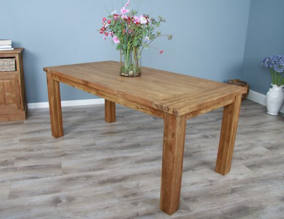 1.6m Reclaimed Teak Taplock Dining Table