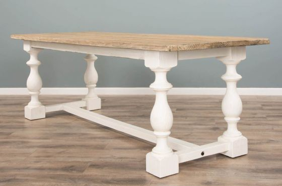 2.4m Reclaimed Pine Ellena Dining Table