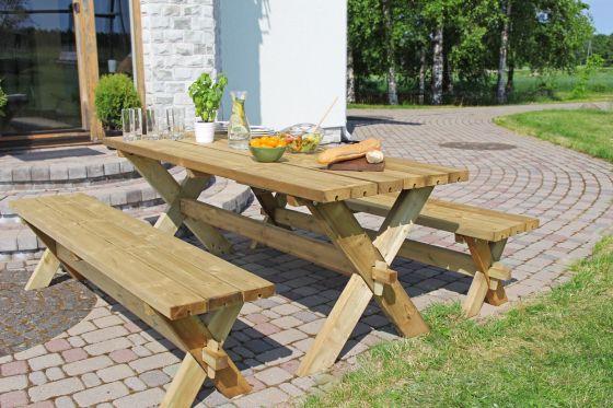 Picnic Table Garden Set