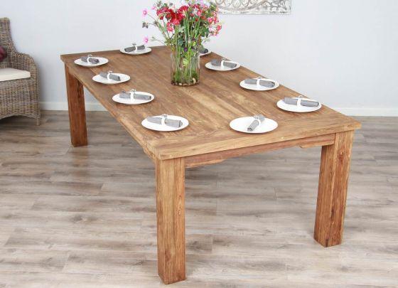 2.4m Reclaimed Teak Taplock Dining Table