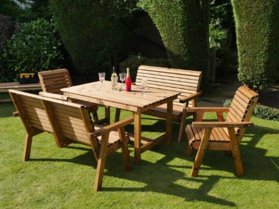 Orchard 1.35m Rectangular Table with 4 or 6 Seats
