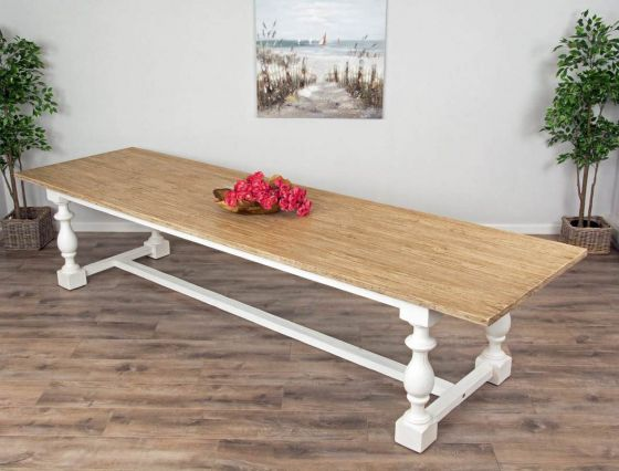 3.6m Reclaimed Pine Ellena Dining Table