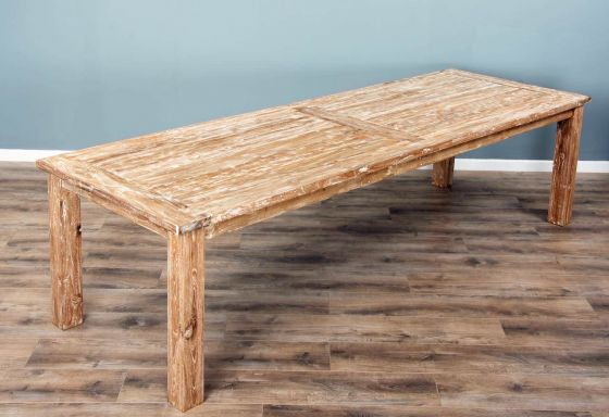 3m Reclaimed Teak Mexico Dining Table