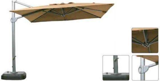 3m Square Cantilever Premium Commercial Parasol